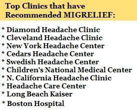 Headache Clinics recommend 2